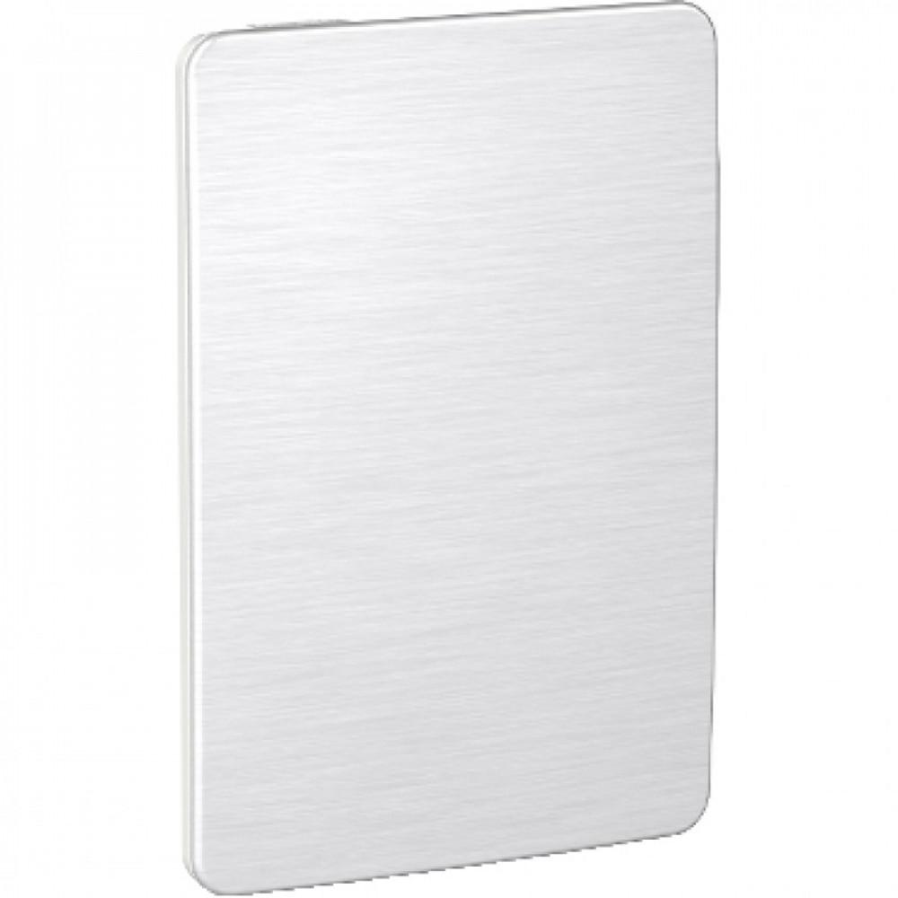 Placa Ciega Orion Aluminio/blanco Cosmic Grey