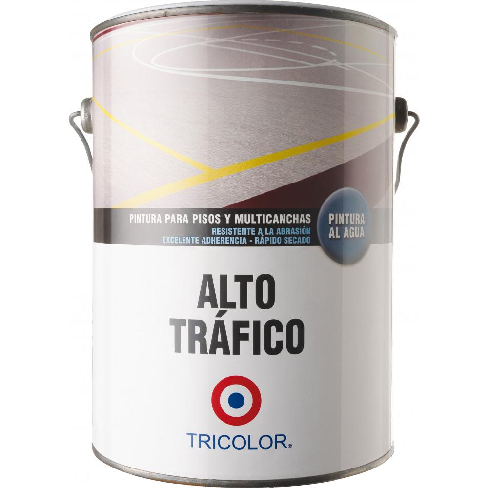 Pintura Alto Trafico Al Agua Blanco Gl 9002000001