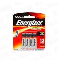 Pila Alcalina Energizer Aaa4 X 4un 923265
