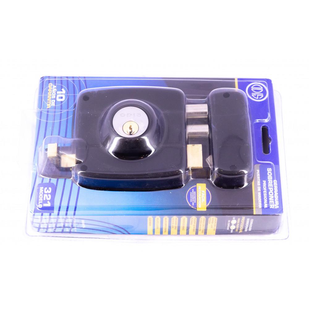 Cerradura Sobreponer Mecanica 300-321 Odis