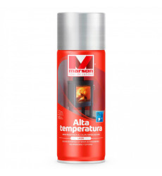 Pintura Spray Alta Temp. Aluminio 485ml Rs907875