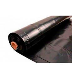 Manga Poliet. Negra 0.20x2mt (1.35m/kg)