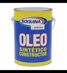 Oleo Sint.constr. Azul Mediano 1 Gl