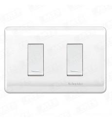 Interruptor Doble Genesis Blanco 130247502
