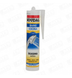 Silicona Acetica Transp C/fung Soudal
