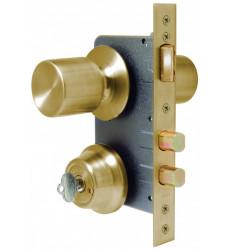 Cerradura Pomo Acceso 4180+bsl/bsf Scanavini