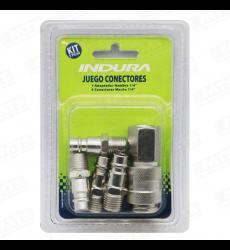 Conector 1/4 P/compresora (5pcs) 1023803