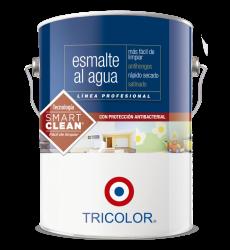 Esmalte Al Agua Blanco Invierno Gl Tricolor