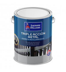 Anticorrosivo Triple Accion Metal Negro Gl