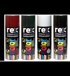 Pintura Spray Anticorrosivo Verde 400ml Rex