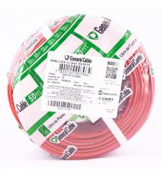 Alambre Elect. Nya 2.5mm Rojo 50mts