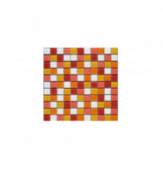 Ceramica Malla Mosaico V.naranjo