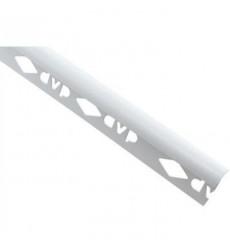 Esquinero P/ceramica 8mm X2.5m Blanco