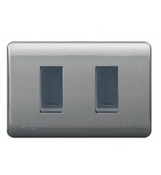 Interruptor Doble Genesis Humo 130267602