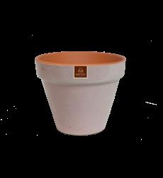 Macetero  Palo Rosa 15cm Ceramico
