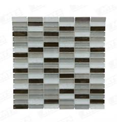 Malla Vidrio Mosaico Tierra Gml-015