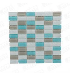 Mosaico Aqua 30x30x8mm