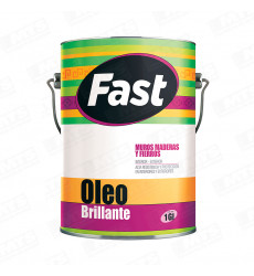 Oleo Brillante Base Agua Negro 1 Gl 9640890001