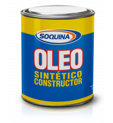 Oleo Sint.constr. Ocre 1/4 Gl