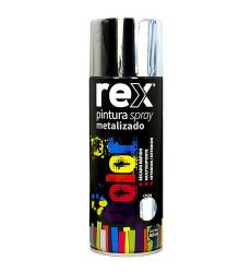 Pintura Spray Metal Cromo Tarro 400ml Rex