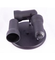 Plafon 3l R63 Negro  19006044