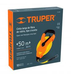 Huincha Cruceta 50mts C/cin Fibra Vid Truper 12647