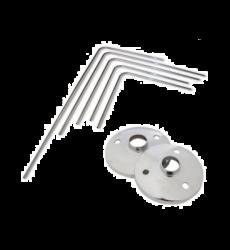 Tubo Crom Angular 3/4x0,80x0,80mt (51080)